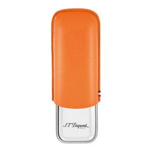 デュポン シガーケース2本 オレンジ 183012【新品・正規品・送料無料】 ギフト 【】