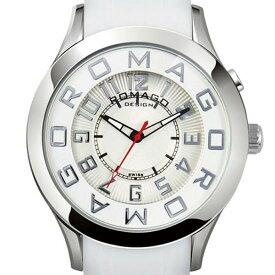 ROMAGO DESIGN[ロマゴデザイン] RM015-0162PL-SVWH Attraction series ミラー文字盤 クォーツ 腕時計 ブランド ファッション 腕時計 【新品・正規品・送料無料】 ギフト 【】