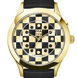 ROMAGO DESIGN[ロマゴデザイン] RM052-0314ST-GDBK Fashioncode series ミラー文字盤 クォーツ 腕時計 ブランド ファッション 腕時計 【新品・正規品・送料無料】 ギフト 【】