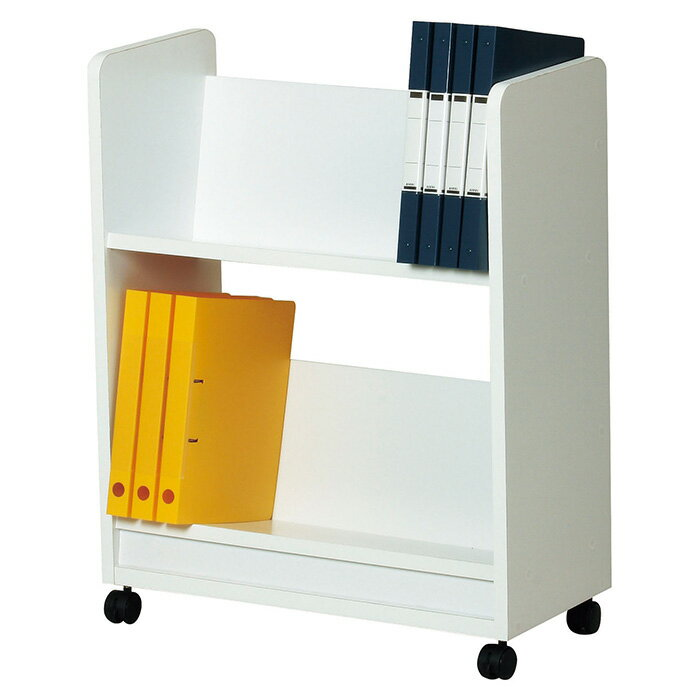 本屋さんやレンタルDVDショップみたいな斜め棚の本棚 ファイルワゴン 送料無料 美しい本棚(おしゃれ 本棚 ブックシェルフ 書棚 ブックラック 収納棚 オシャレ ラック 新生活 収納ラック) e-room
