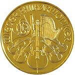 【新品未使用】【金貨】オーストリア ウィーン金貨 1/10オンス硬貨 1/10oz(1989年〜)(金地金/純金)「コイン」