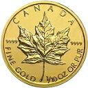 【新品未使用】 金貨 24金 メイプルリーフ金貨 1/10オンス 1/10oz カナダ 1979年〜 金地金 純金 k24 24k メープル|硬…