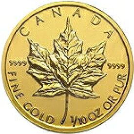 【新品未使用】 金貨 24金 メイプルリーフ金貨 1/10オンス 1/10oz カナダ 1979年〜 金地金 純金 k24 24k メープル|硬貨 コイン 貴金属