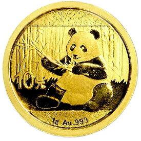 【新品未使用】 金貨 24金 パンダ金貨 1グラム 1g 中国 2017年 金地金 純金 k24 24k|硬貨 コイン 貴金属