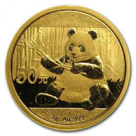 【新品未使用】 金貨 24金 パンダ金貨 3グラム 3g 中国 2017年 金地金 純金 k24 24k|硬貨 コイン 貴金属