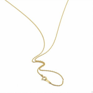 ネックレス チェーン 10金 イエローゴールド 小豆チェーン 幅1.2mm 長さ50cm|鎖 K10YG 10k 貴金属 ジュエリー レディース メンズ 母の日 プレゼント ギフト 無料ラッピング