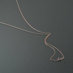 ネックレス チェーン 10金 ピンクゴールド 小豆チェーン 幅1.1mm 長さ55cm|鎖 K10PG 10k 貴金属 ジュエリー レディース メンズ