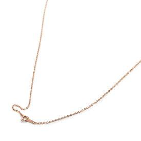 ネックレス チェーン 18金 ピンクゴールド 小豆チェーン 幅1.2mm 長さ55cm|鎖 K18PG 18k 貴金属 ジュエリー レディース メンズ