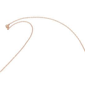 ネックレス チェーン 18金 ピンクゴールド 荒小豆チェーン 幅1.3mm 長さ55cm 鎖 K18PG 18k 貴金属 ジュエリー レディース メンズ