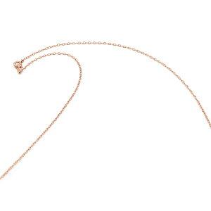 ネックレス チェーン 18金 ピンクゴールド 荒小豆チェーン 幅1.3mm 長さ80cm|鎖 K18PG 18k 貴金属 ジュエリー レディース メンズ