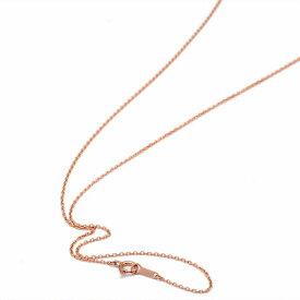 ネックレス チェーン 18金 ピンクゴールド 小豆チェーン 幅1.1mm 長さ55cm|鎖 K18PG 18k 貴金属 ジュエリー レディース メンズ
