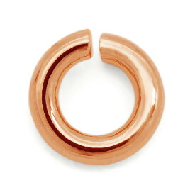 【1個売り】 丸カン 18金 ピンクゴールド 丸環 線径0.7mm 直径3.0mm マルカン|手芸用品 金具 飾り パーツ 部品 K18PG 18k 貴金属