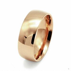 指輪 18金 ピンクゴールド 甲丸リング 幅10.0mm ピンキーリングもございます 地金リング K18PG 18k 貴金属 ジュエリー レディース メンズ