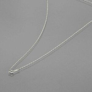 ネックレス チェーン 18金 ホワイトゴールド ロールL&S(1対1)チェーン 幅1.3mm 長さ60cm|鎖 K18WG 18k 貴金属 ジュエリー レディース メンズ