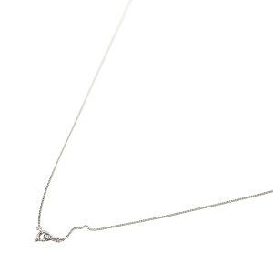 ネックレス チェーン 18金 ホワイトゴールド 2面カット喜平チェーン 幅0.8mm 長さ50cm|鎖 K18WG 18k 貴金属 ジュエリー レディース メンズ