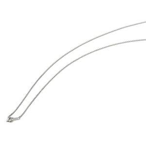 ネックレス チェーン 18金 ホワイトゴールド ロールチェーン 幅1.2mm 長さ60cm|鎖 K18WG 18k 貴金属 ジュエリー レディース メンズ
