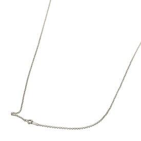 ネックレス チェーン 18金 ホワイトゴールド ロールチェーン 幅1.7mm 長さ60cm|鎖 K18WG 18k 貴金属 ジュエリー レディース メンズ