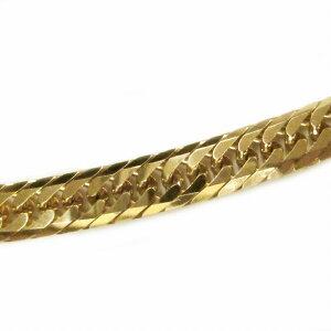 ブレスレット チェーン 18金 イエローゴールド 8面カットトリプル喜平チェーン 幅7.5mm 長さ18cm|鎖 K18YG 18k 貴金属 ジュエリー メンズ