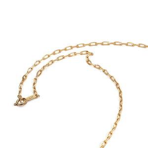 ネックレス チェーン 18金 イエローゴールド グリームカットロング小豆チェーン 幅2.1mm|鎖 K18YG 18k 貴金属 ジュエリー レディース メンズ