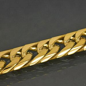 ネックレス チェーン 18金 イエローゴールド 6面カットダブル喜平チェーン 幅4.4mm 長さ80cm|鎖 K18YG 18k 貴金属 ジュエリー レディース メンズ