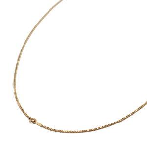 ネックレス チェーン 18金 イエローゴールド 2面カット喜平チェーン 幅1.8mm 長さ50cm|鎖 K18YG 18k 貴金属 ジュエリー レディース メンズ