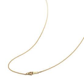ネックレス チェーン 18金 イエローゴールド 4面カット小豆チェーン 幅1.0mm 長さ45cm|鎖 K18YG 18k 貴金属 ジュエリー レディース メンズ