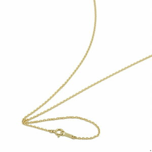 ネックレス チェーン 18金 イエローゴールド 小豆チェーン 幅1.3mm 長さ70cm|鎖 K18YG 18k 貴金属 ジュエリー レディース メンズ