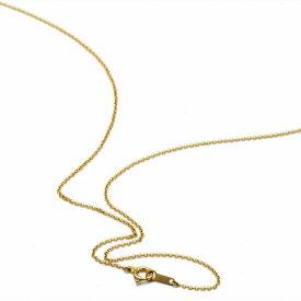 ネックレス チェーン 18金 イエローゴールド ロールチェーン 幅1.0mm 長さ45cm|鎖 K18YG 18k 貴金属 ジュエリー レディース メンズ