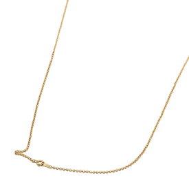 ネックレス チェーン 18金 イエローゴールド ロールチェーン 幅1.7mm 長さ45cm 鎖 K18YG 18k 貴金属 ジュエリー レディース メンズ