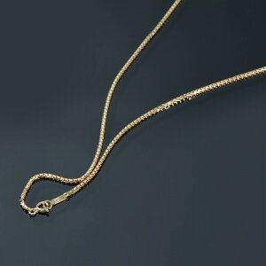 ネックレス チェーン 18金 イエローゴールド ベネチアンチェーン 幅1.6mm 長さ70cm|鎖 K18YG 18k 貴金属 ジュエリー レディース メンズ