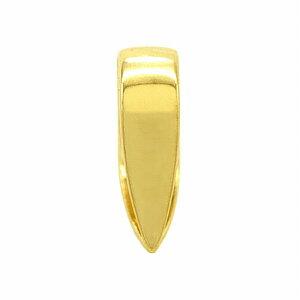【1個売り】 バチカン 18金 イエローゴールド シンプルバチカン 縦5.0mm 横1.5mm ペンダントトップ用|手芸用品 金具 飾り パーツ 部品 K18YG 18k 貴金属
