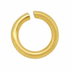 【1個売り】 丸カン 18金 イエローゴールド 丸環 線径0.8mm 直径5.0mm マルカン|手芸用品 金具 飾り パーツ 部品 K18YG 18k 貴金属