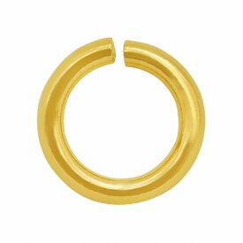 【1個売り】 丸カン 18金 イエローゴールド 丸環 線径1.2mm 直径7.0mm マルカン|手芸用品 金具 飾り パーツ 部品 K18YG 18k 貴金属