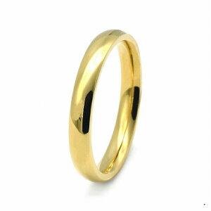 指輪 18金 イエローゴールド 甲丸リング 幅2.5mm ピンキーリングもございます 地金リング|K18YG 18k 貴金属 ジュエリー レディース メンズ
