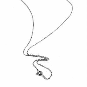 ネックレス チェーン PT850 プラチナ 小豆チェーン 幅1.1mm 長さ60cm|鎖 850pt 貴金属 ジュエリー レディース メンズ