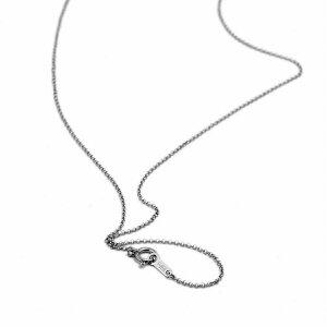 ネックレス チェーン PT850 プラチナ ロールチェーン 幅1.0mm 長さ60cm|鎖 850pt 貴金属 ジュエリー レディース メンズ