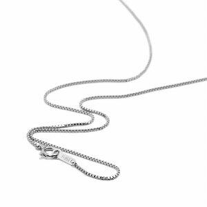 ネックレス チェーン PT850 プラチナ ベネチアンチェーン 幅0.8mm 長さ50cm|鎖 850pt 貴金属 ジュエリー レディース メンズ