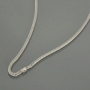 ネックレス チェーン PT850 プラチナ 6面カットダブル喜平チェーン 幅4.6mm 長さ60cm 鎖 850pt 貴金属 ジュエリー レディース メンズ
