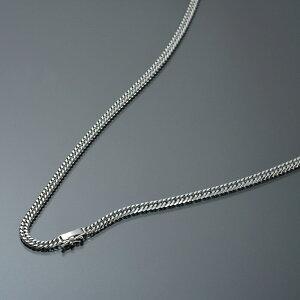 ネックレス チェーン PT850 プラチナ 6面カットダブル喜平チェーン 幅4.1mm 長さ55cm|鎖 850pt 貴金属 ジュエリー レディース メンズ