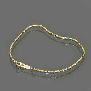 ブレスレット チェーン サージカルステンレス 316L 金色 コブラチェーン 幅1.25mm 長さ17cm|鎖 ステンレス アクセサリー レディース メンズ 母の日 プレゼント ギフト 無料ラッピング