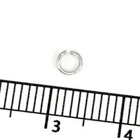 【1個売り】 丸カン シルバー925 丸環 線径0.6mm 直径3.5mm マルカン|手芸用品 金具 飾り パーツ 部品 銀 Silver