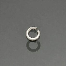 【1個売り】 丸カン シルバー925 丸環 線径0.7mm 直径3.5mm マルカン|手芸用品 金具 飾り パーツ 部品 銀 Silver