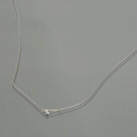 ネックレス チェーン 明るい色の純チタン 小豆チェーン 幅1.9mm 長さ80cm|鎖 チタン アクセサリー レディース メンズ