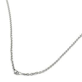 ネックレス チェーン 明るい色の純チタン 小豆チェーン 幅3.0mm 長さ40cm|鎖 チタン アクセサリー レディース メンズ