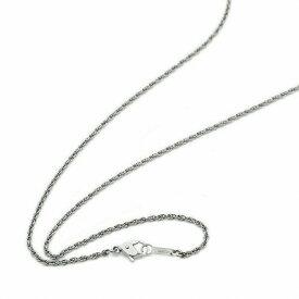 ネックレス チェーン 明るい色の純チタン ルーズロープチェーン 幅1.5mm 長さ70cm|鎖 チタン アクセサリー レディース メンズ