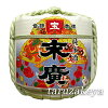 Decoration barrel [Suehiro treasure] 2 to barrel (display barrel) Japanese Decorative barrel