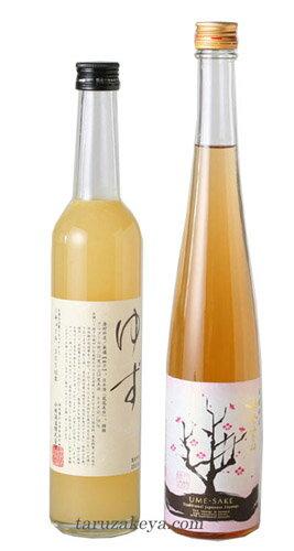 鳳凰美田 ゆず酒・梅酒500ml【ご自宅用】【ギフト不可】