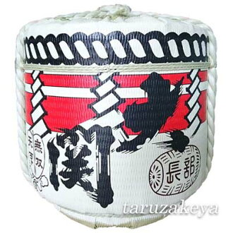 Decoration barrel [ozeki] 4 to barrel (display barrel) Japanese Decorative barrel