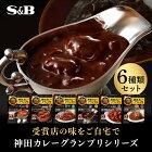 商品画像神田カレーグランプリ6種類セット