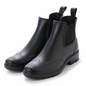 【基本送料無料】メンズ レインブーツ レインシューズ サイドゴア ウイングチップ ビジネス カジュアル 紳士 完全防水 防滑 長靴 雨靴 24.0cm 24.5cm 25.0cm 25.5cm 26.0cm 26.5cm 27.0cm 27.5cm aw_16033【条件付サイズ交換無料】